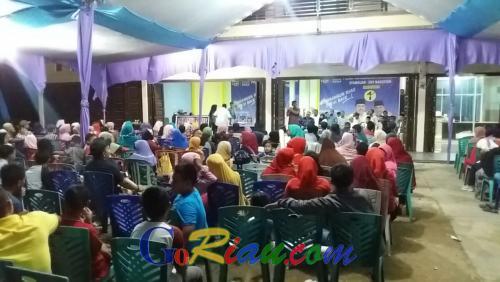 Kampanye Dialogis Syamsuar di Inhu Ramai Dihadiri Masyarakat