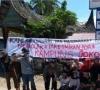 Gelar Orasi Tadi Pagi, Perantau dan Warga Batu Bolang Tolak Pemberian Nama Kampung Jokowi