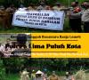 Sambangi Kampung Tangguh Banja Loweh, Kapolres AKBP Trisno Eko Santoso S.IK Tebar Bibit Ikan dan benih Padi.