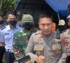 Kapolres LimaPuluh Kota Tinjau Pos Penyekatan di Perbatasan Sumbar-Riau