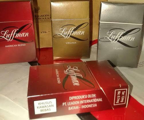 Peredaran Rokok Luffman Semakin Tak Terbendung, Tenyata Bukan Rokok Dalam Negri