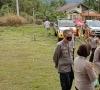 Kapolres 50 Kota Hadiri Gebyar Vaksinasi Massal Covid-19 Di Pangkalan Dalam Rangka HUT Bhayangkara Ke-75