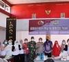 Vaksinasi Massal WBP Lapas Padang Dipantau Panglima TNI dan Kapolri Melalui Zoom