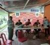 Jalin Silaturahmi, Kalapas Dan Kapolsek Ngopi Bareng Dengan Lintas Instasi Forkopimcam Suliki