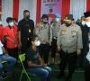 Wakapolri Tinjau Nagari Tageh Rumah Gadang dan Vaksinasi Covid-19 di HBT