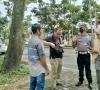 Kasat Lantas Polres 50 Kota Pimpin Langsung Operasi Yustisi, Tegur Pengendara Yang Tidak Pakai Masker