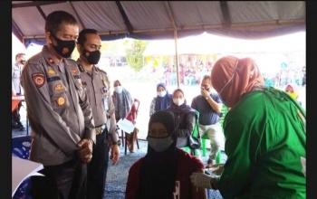 Lagi, Polres Kabupaten 50 Kota Gelar Vaksinasi Massal