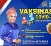 Anggota Komisi II DPR RI Rezka Oktoberia Gelar Vaksin Massal