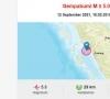 Gempa dengan Magnitudo 5,3 Guncang Agam Sumbar